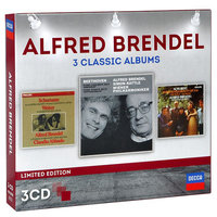 Audio CD Alfred Brendel. 3 classic albums