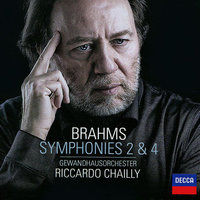Audio CD Riccardo Chailly. Brahms. Symphonies Nos. 2 & 4