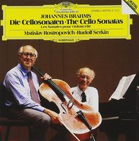 Mstislav Rostropovich; Rudolf Serkin. Brahms: Sonatas For Cello And Piano No.1 (CD)