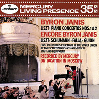 Audio CD Janis Byron. Liszt: Piano Concertos Nos.