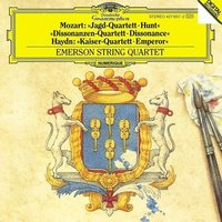 Audio CD Emerson String Quartet. Mozart: String Quartets Hunt & Dissonances / Haydn: String Quartet Emperor