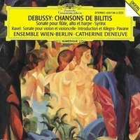 Audio CD Catherine Deneuve, Ensemble Wien-Berlin. Debussy: Chansons de Bilitis