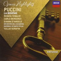 Audio CD Tullio Serafin. Puccini: La Boheme - Highlights