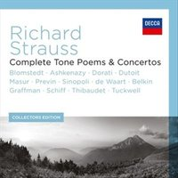 Audio CD Various Artists. R.Strauss: The Complete Tone Poems & Concertos