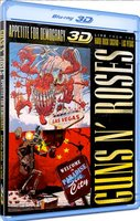Blu-Ray + Audio CD Guns N` Roses. Appetite For Democr (Live At The Hard Rock Casino)
