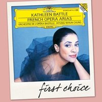 Audio CD Myung-Whun Chung, Kathleen Battle, Orchestre de l'opera Bastille. French opera arias