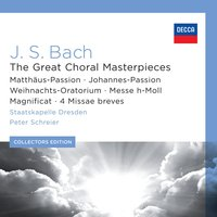 Audio CD Peter Schreier. Bach: Great Choral Masterpieces