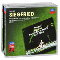 Audio CD Karl Bohm. Wagner. Siegfried
