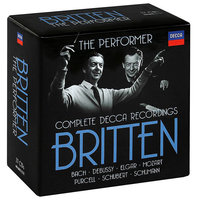 Audio CD Benjamin Britten. The performer