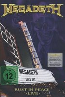 DVD Megadeth. Rust In Peace Live