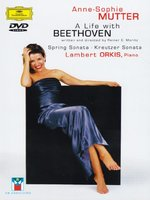 DVD Anne-Sophie Mutter. Life With Beethoven