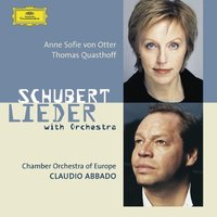 Audio CD Anne Sofie von Otter; Thomas Quasthoff. Schubert: Orchestral songs