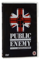 DVD Public Enemy. Live At Metropolis Studios