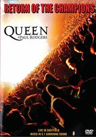 DVD Queen, Paul Rodgers. Return Of The Champions