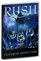 DVD Rush. Clockwork Angels Tour