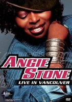 DVD Angie Stone. Live In Vancouver: Music In Higher Places