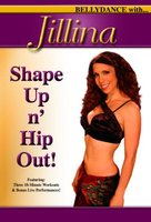 Various Artists. Jillina `Shape Up N Hip Out` (DVD)