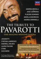 DVD Various Artists. Live From Petra. Pavarotti, The Tribute