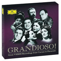 Audio CD Various Artists. Grandioso! Great Verdi recordings