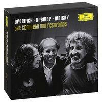 Audio CD Marta Argerich, Gidon Kremer, Mischa Maisky. The Complete Duo Recordings