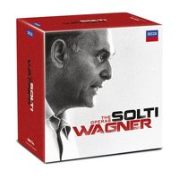 Audio CD Sir Georg Solti. Wagner: The Operas