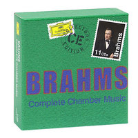 Audio CD Various Artists. Brahms. Complete Chamber Music