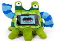 Мягкая игрушка Wise Pet Stripy с прозрачным карманом для смартфона
