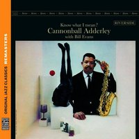 Audio CD Cannonball Adderley. Know What I Mean?