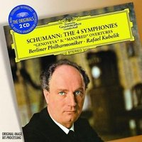 Audio CD Rafael Kubelik. Schumann: The 4 syms; Overtures opp.81