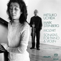 Audio CD Mitsuko Uchida; Mark Steinberg. Mozart: Sonatas For Piano & Violin