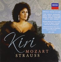 Audio CD Kiri Te Kanawa. Sings Mozart & Strauss