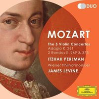 Audio CD Itzhak Perlman. Mozart. The 5 Violin Concertos