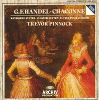 Audio CD Trevor Pinnock. Handel: Chaconne In G Major For Harpsichord, HWV 435