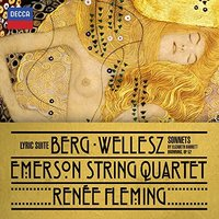 Audio CD Renee Fleming, Emerson String Quartet. Berg: Lyric Suite