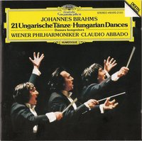 Claudio Abbado. Brahms: Hungarian Dances (CD)