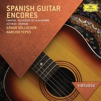 Audio CD Various Artists. Spanish Guitar Encores