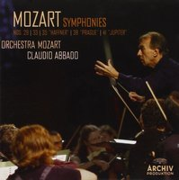 Audio CD Claudio Abbado. Mozart: Syms Nos. 29, 33, 35, 38, 41 Jupiter