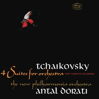 Audio CD Antal Dorati, Tchaikovsky. Four Suites For Orchestra