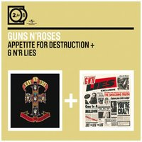 Audio CD Guns N' Roses. Appetite for destruction / G N'R lies