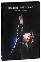 DVD Robbie Williams. Live In Tallinn