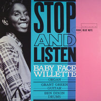 Audio CD Baby Face Willette. Stop And Listen