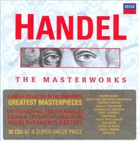 Audio CD Various Artists. Handel Masterworks