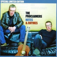 Audio CD The Proclaimers. Notes & Rhymes