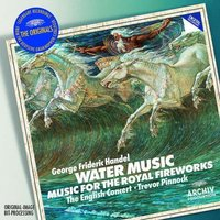 Audio CD Trevor Pinnock, Handel. Water Music & Fireworks Music