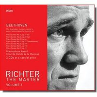 Audio CD Рихтер Святослав. Richter The Master, Vol. 1: Beethoven