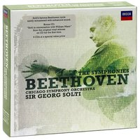 Audio CD Georg Sir Solti. Beethoven: The Symphonies