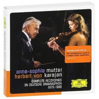 Audio CD Anne-Sophie Mutter, Herbert Von Karajan. Complete Recordings On Deutsche Grammophon 1978-1988