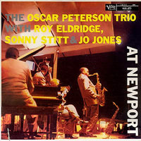 Audio CD Oscar Peterson. At Newport