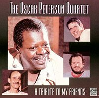 Oscar Peterson. A Tribute To My Friends (CD)
