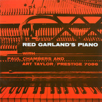 Audio CD Red Garland. Red Garland's Piano